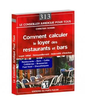 Comment calculer le loyer des restaurants et bars