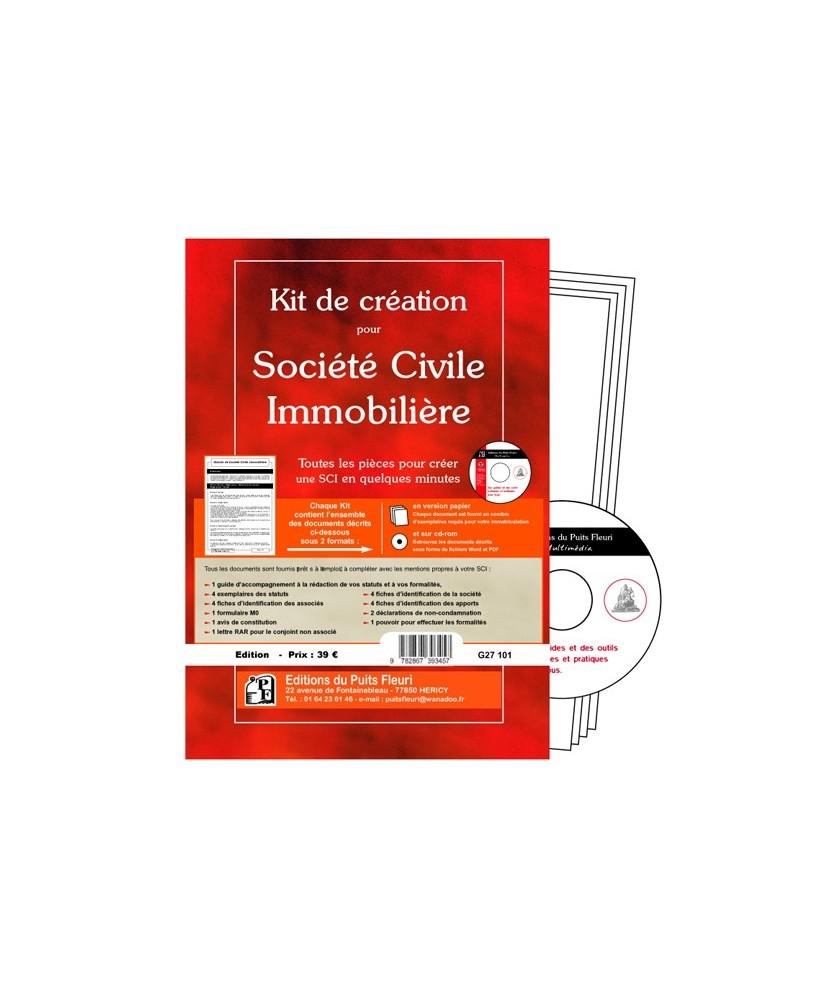 Kit de création pour Société Civile Immobilière