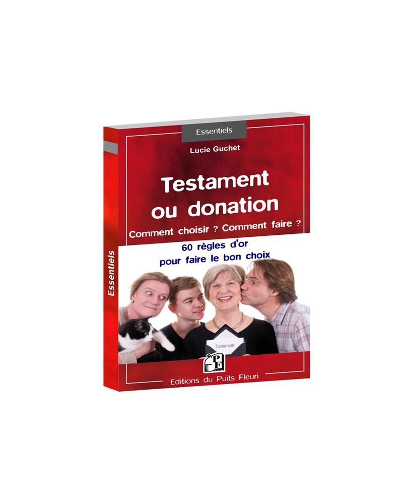 Testament ou donation